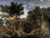 Nicolas Poussin - Apollo and Daphne