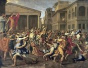 Nicolas Poussin - Rape of The Sabines