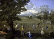 Nicolas Poussin - Summer, or Ruth and Boaz
