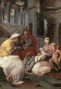 Francesco Primaticcio - Holy Family With St. Elizabeth and John The Baptist