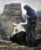 Pierre Puvis de Chavannes - The Compassion