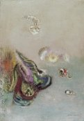 Odilon Redon - Abstract Scene