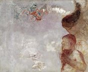 Odilon Redon - Profile of a Man