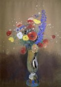 Odilon Redon - Vase of Flowers from a Field