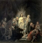 Rembrandt Van Rijn - Disbelief of Apostle Thomas