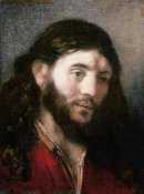 Rembrandt Van Rijn - Head of Christ