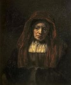 Rembrandt Van Rijn - Portrait of An Old Woman