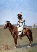 Frederic Remington - Blackfoot Indian