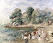 Pierre-Auguste Renoir - Beach at Pornic