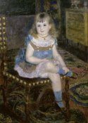 Pierre-Auguste Renoir - Miss Georgette Charpentier Seated