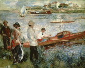 Pierre-Auguste Renoir - Oarsmen at Chatou
