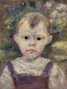 Pierre-Auguste Renoir - Portrait Of A Little Boy