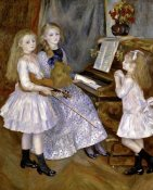 Pierre-Auguste Renoir - Portrait of the Daughters of Catulle Mendes