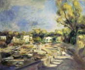 Pierre-Auguste Renoir - Scenery in Cagnes (Paysage a Cagnes)