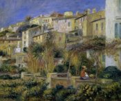 Pierre-Auguste Renoir - Terraces in Cagnes