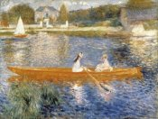 Pierre-Auguste Renoir - The Seine at Asnieres