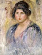 Pierre-Auguste Renoir - The Woman with a Hat (La Femme au Chapeau)