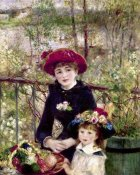 Pierre-Auguste Renoir - Two Sisters (On The Terrace)