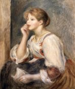 Pierre-Auguste Renoir - Woman with a Letter