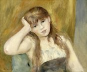 Pierre-Auguste Renoir - Young Blond Girl
