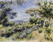 Pierre-Auguste Renoir - Young Woman in the Landscape