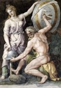 Giulio Romano - Vulcan Forging Armour For Achilles
