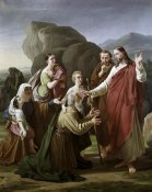 Martinus Christian Wedseltoft Rorbye - Christ Healing The Blind