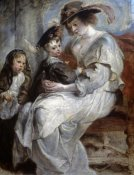 Peter Paul Rubens - Helena Fourment and Children