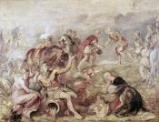 Peter Paul Rubens - Meeting of The Two Ferdinands