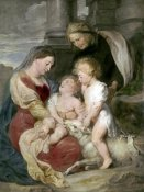 Peter Paul Rubens - Virgin & Child With St. Elizabeth & St. John