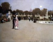 John Singer Sargent - Luxembourg Gardens at Twilight