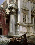 John Singer Sargent - Church of San Stae, Venice