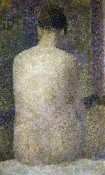 Georges Seurat - Pose From The Back