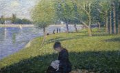 Georges Seurat - Study for A Sunday on La Grande Jatte II