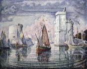 Paul Signac - Entrance To The Port of La Rochelle