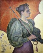 Paul Signac - Portrait of Bertha Signac