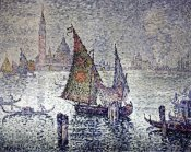 Paul Signac - Venice: The Green Sail