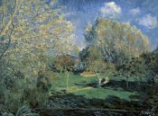Alfred Sisley - Hoschede Gardens