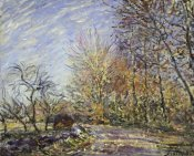 Alfred Sisley - Outskirts of the Fontainbleau Forest