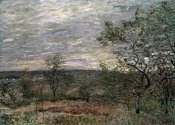 Alfred Sisley - Windy Day In Vienna