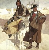 Joaquin Sorolla y Bastida - Typical Men of La Mancha