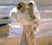 Joaquin Sorrolla y Bastida - After the Bath
