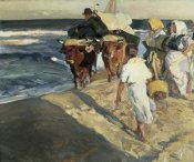 Joaquin Sorrolla y Bastida - Taking Out the Boat