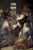 Jacopo Tintoretto - Christ In The House of Mary & Martha