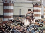 James Tissot - Abimelech Slays His Seventy Brethren