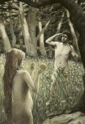 James Tissot - Adam Tempted by Eve
