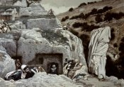 James Tissot - Apostles Hiding In The Valley of Hinnom