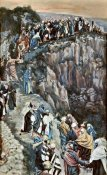 James Tissot - Brow of The Hill Near Nazareth