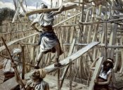 James Tissot - Building of The Ark