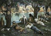 James Tissot - By The Waters of Babylon